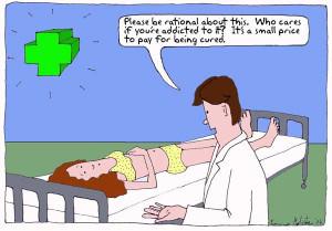 Pharmaceutical drug addiction