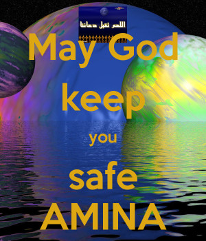 May God Bless And Keep You...