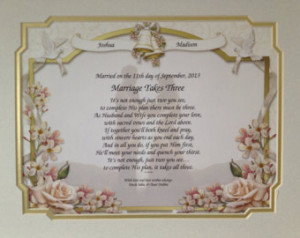 Christian Marriage Poems Three