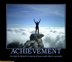 Achievement and Learning