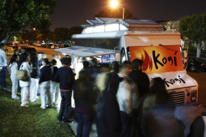 Korean Mexican Food, Kogi Trucks, and Young-ha Kim's Black Flower