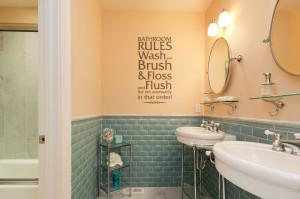 Bathroom Quotes HD Wallpaper 4