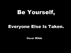Good advice, from Oscar Wilde . Revealed by Chris Guillebeau …more ...