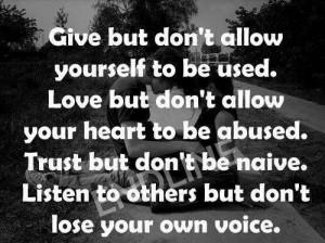 Don't get burned...