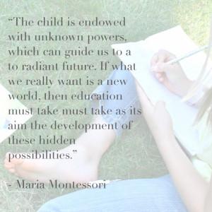 Montessori Materials: Science and Nature