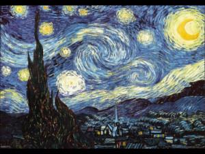 Van Gogh - Starry Night - 3D Poster