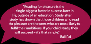 ... see how enjoyable reading is. Some of the things you can do include
