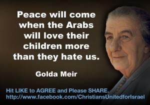 Golda Meir :