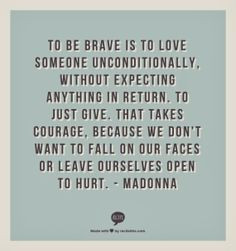 Madonna quote on love. #love #quote #madonna