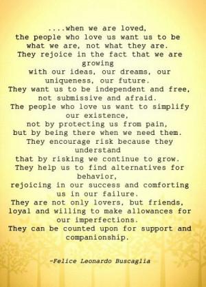 Leo Buscaglia quotes love