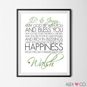 Irish Marriage Quotes Printable quotes, irish marriage blessing, irish ...