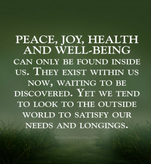 Go Back > Gallery For > Well Being Quotes