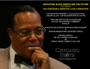Academic Department Co-Sponsors Farrakhan Appearance at Chicago State ...