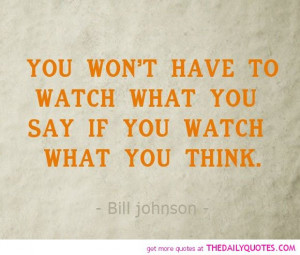 Watch What You Say