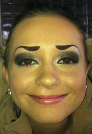 Incredibly Bad Eyebrows – Humanity Is Doomed