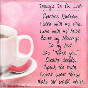 Good Morning Friends! Happy Monday :)Todo Lists, Happy Thoughts, God ...