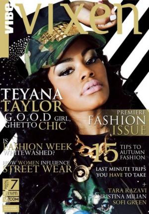 Teyana Taylor Covers Vibe Vixen