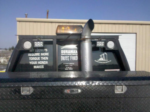 funny truck saying stickers and funny quotes