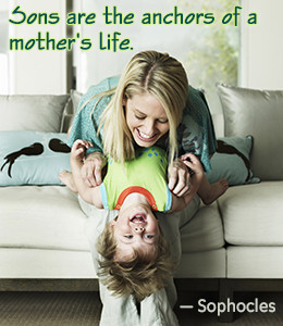 Sophocles quote about mother-son relationship