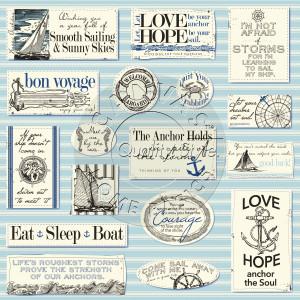 CCP2805 Nautical Sayings on Ivory