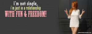 Single Forever Facebook Quote Cover Pictures