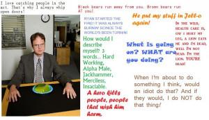 Dwight Schrute Quotes Dwight schrute quotes by