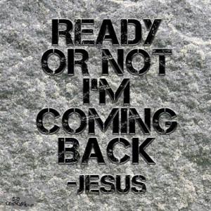coming back Jesus