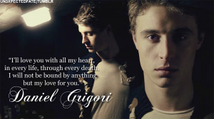 un3xpectedfate:Max Irons as Daniel GrigoriQuote from Passion by Lauren ...
