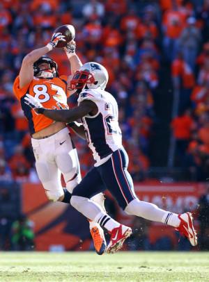Wes Welker Broncos Catch