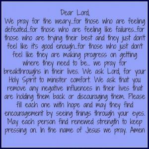 prayer for hope in hard times