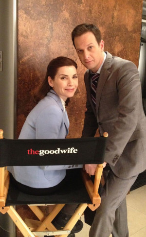 Julianna Margulies and Josh Charles