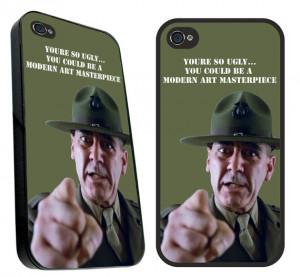 Full metal jacket SGT hartman quote iPhone 4 & 4S case