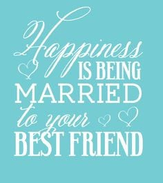 Custom Wedding Koozie - Happiness is Being Married to your Best Friend ...