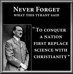 Because Hitler quotes change minds. More