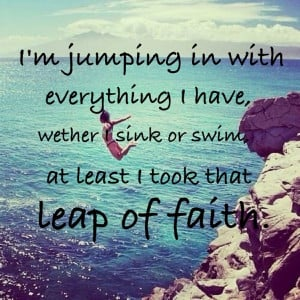Leap Of Faith Quotes In The Bible ~ leap of faith quote | quotes ...