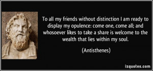 To all my friends without distinction I am ready to display my ...