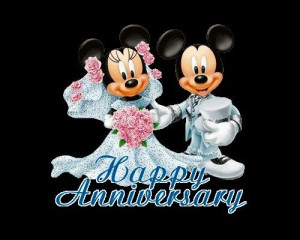 Happy Anniversary Mickey & Minnie Mouse!