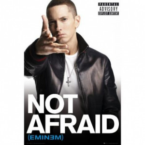Poster Eminem Not Afraid