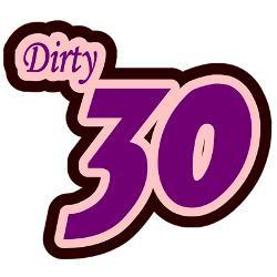 dirty_thirty_shirt_greeting_card.jpg?height=250&width=250&padToSquare ...