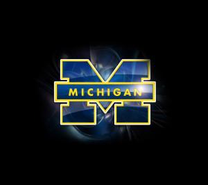 sport,sports,Michigan,Michigan Wolverines,blue,logo,USA,American,