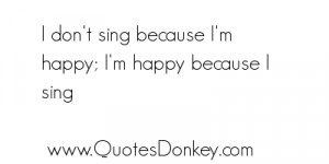 Sing quote #2