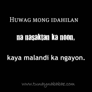 Images Of Banat Quotes Tunay Na Babae Blog Mga Secreto At Tatak Ng ...