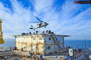 Maritime Safety and Security Team members conduct hook and climb ...