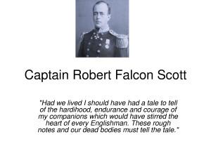 ROBERT FALCON SCOTT QUOTES