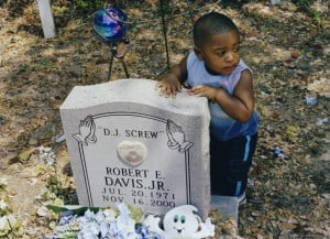 DJ Screw's grave