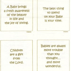 Talking Quilts Baby Mini Quotes 15 3.5