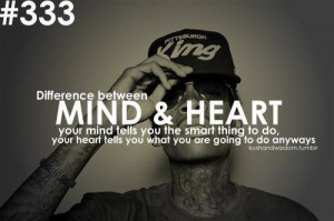 Mind & Heart - Thoughtfull quotes Picture