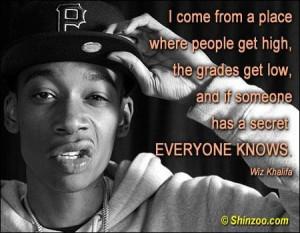 Wiz Khalifa Sayings Quotes