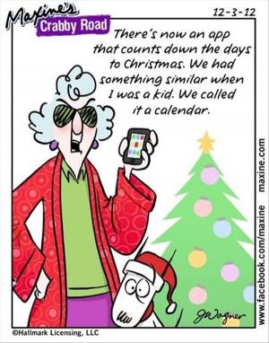 Christmas Calendar - Maxine
