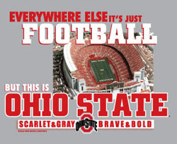 Ohio State Buckeyes Football T-Shirts - Everywhere Else It's Just ...
